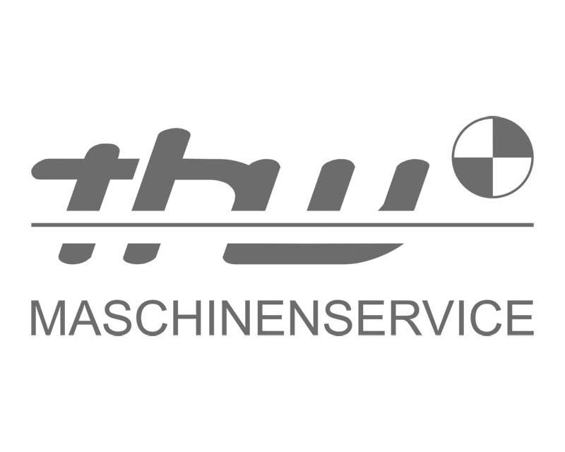 Logodesign THW Maschinenservice
