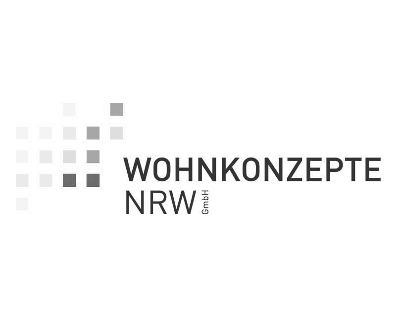 Logodesign für die  Wohnkonzepte NRW GmbH