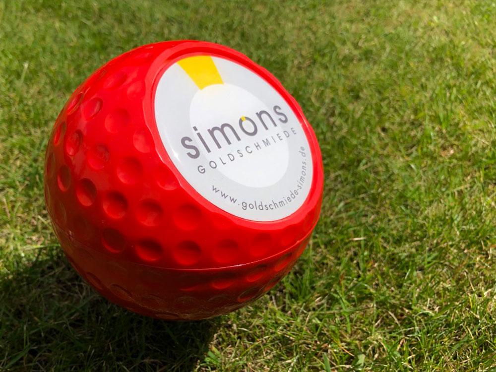 3D-Gelaufkleber für Golfanlage