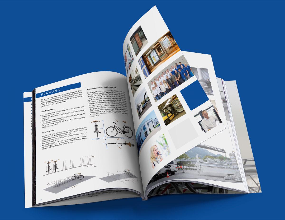 Informativer Produktkatalog im Format DIn A4